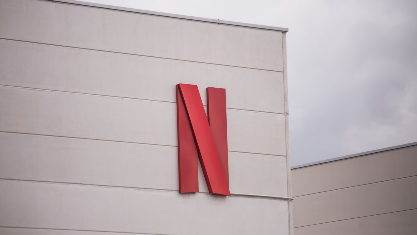 Netflix headquarters in Spain, as of April 30, 2021, in Tres Cantos, Madrid, Spain.