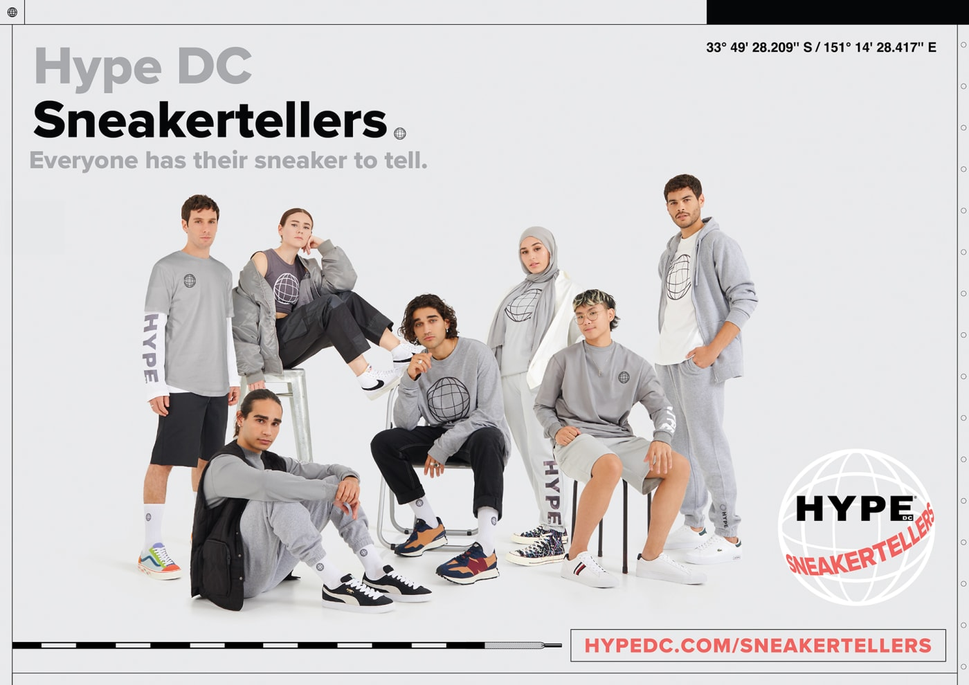 Hype DC Sneakertellers campaign