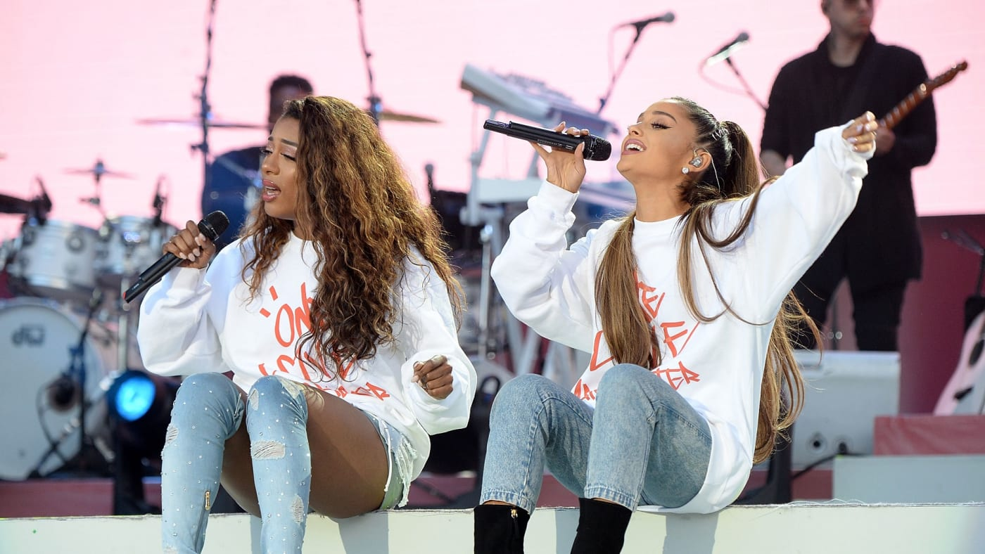 Victoria Monet and Ariana Grande
