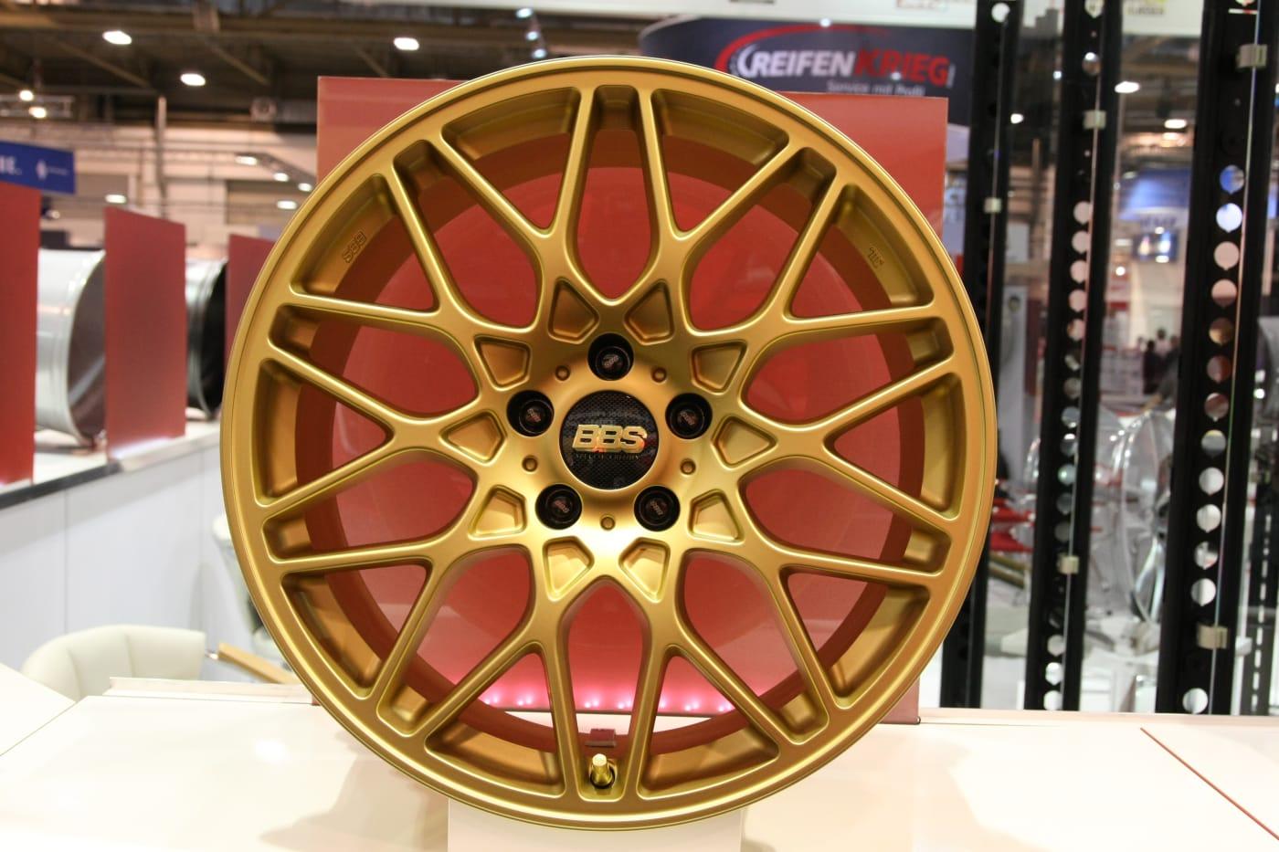 BBS Gold Rim