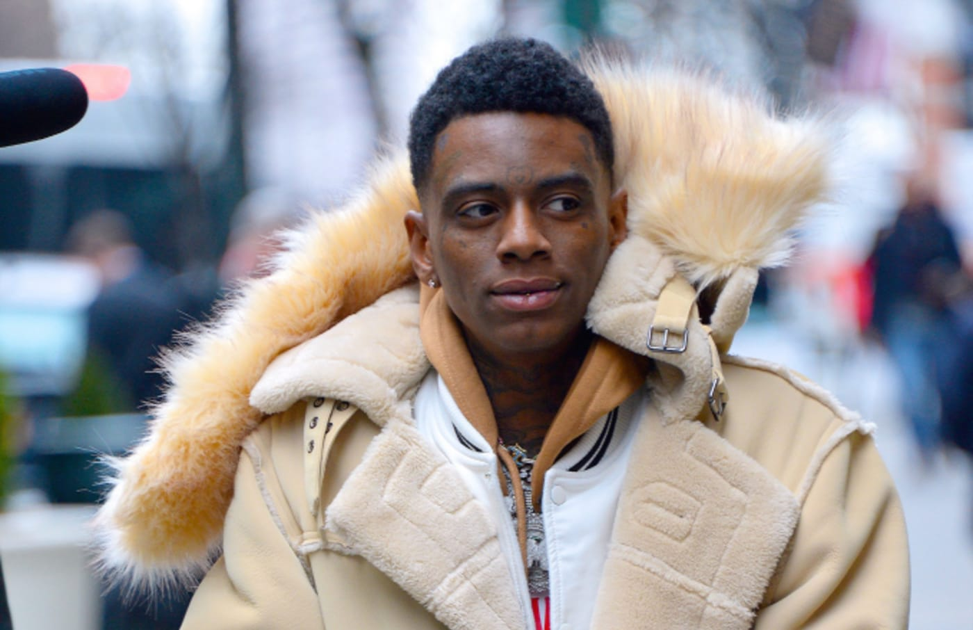 Soulja Boy seen out and about in Manhattan on January 16, 2019
