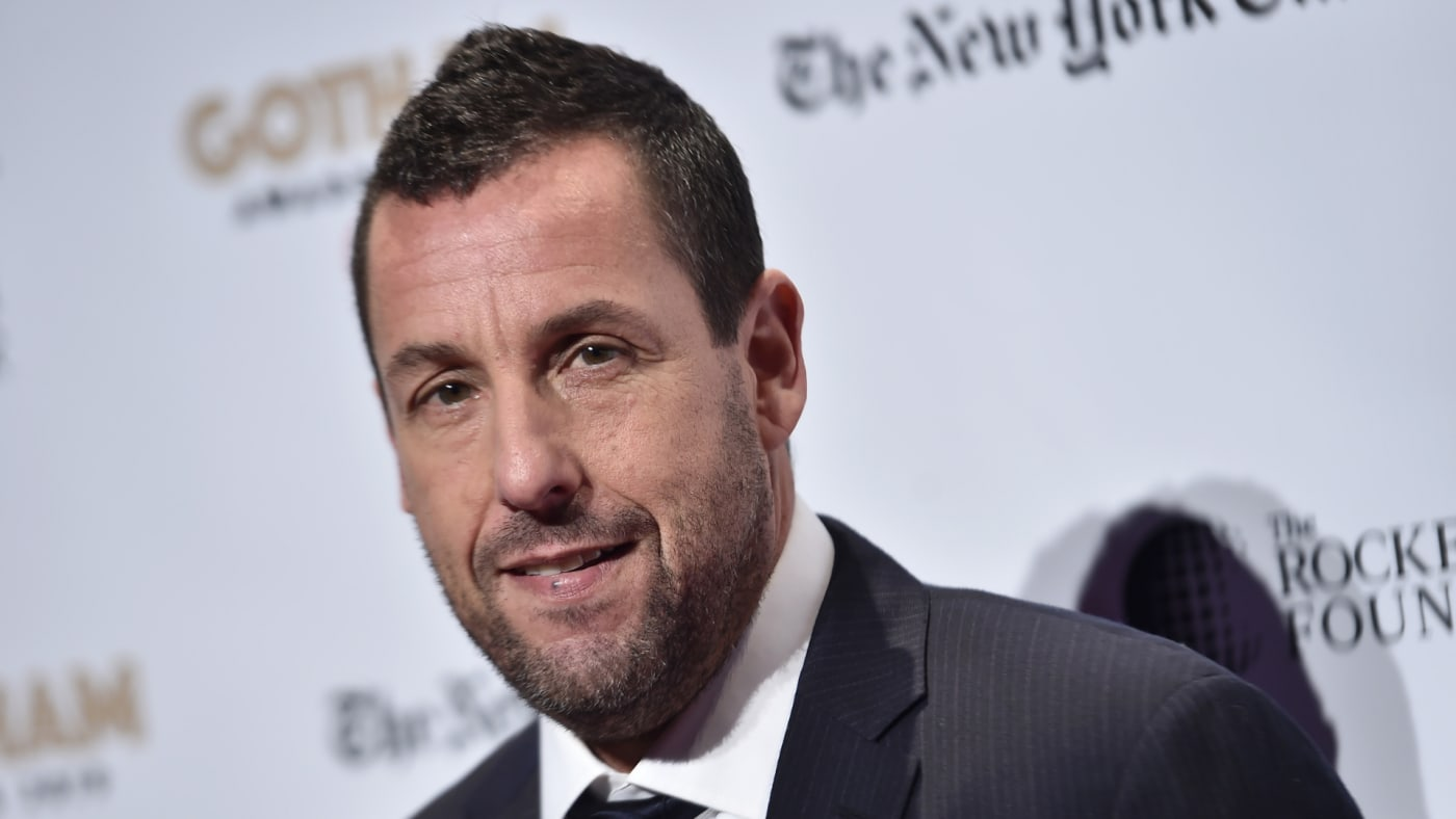 Adam Sandler attends the 2019 IFP Gotham Awards.