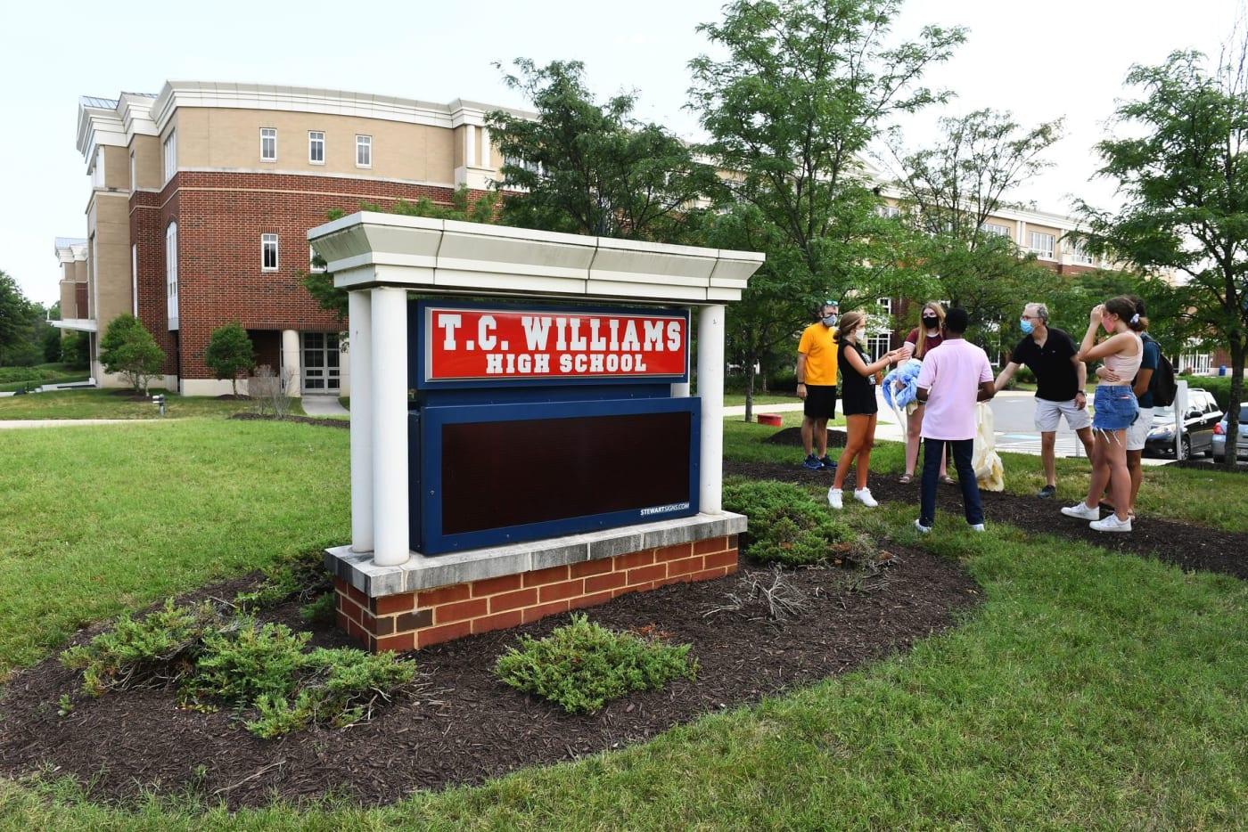 T.C. Williams high school