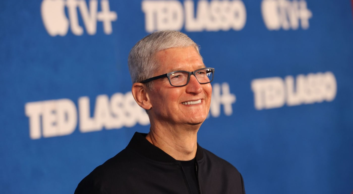 Tim Cook at Ted Lasso Premiere