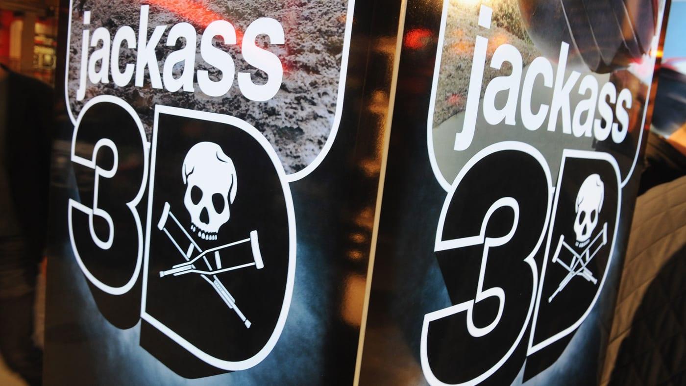 'Jackass 3D' logo