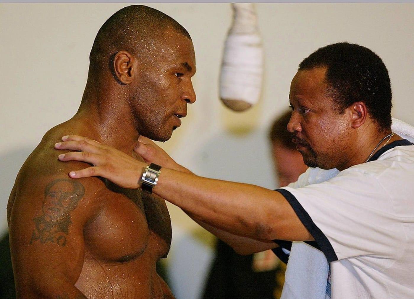 Mike Tyson Ronnie Shields Lennox Lewis 2002
