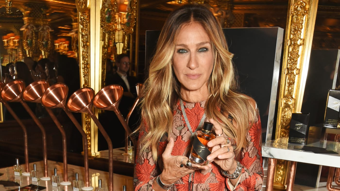Sarah Jessica Parker launches her latest fragrance 'Stash.'