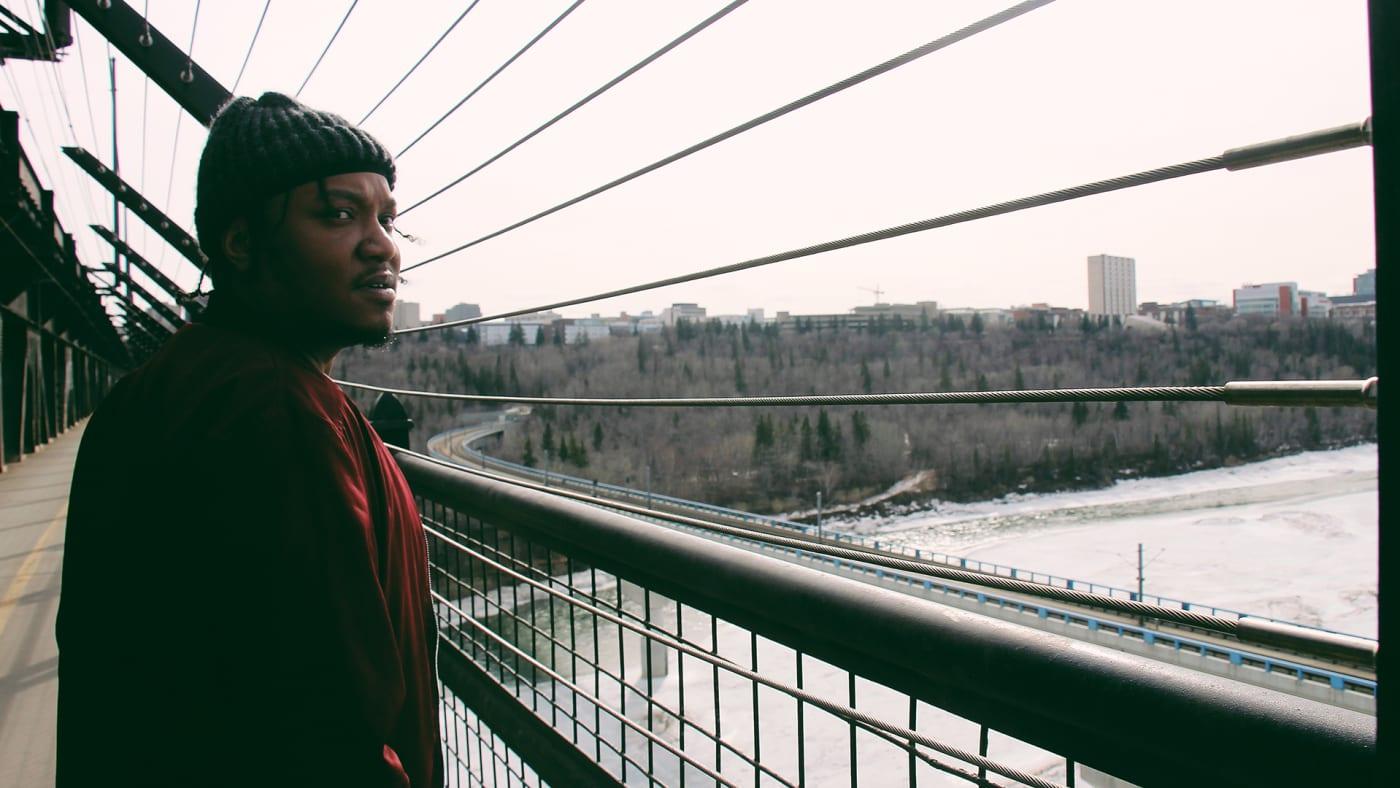 K-Riz on a bridge