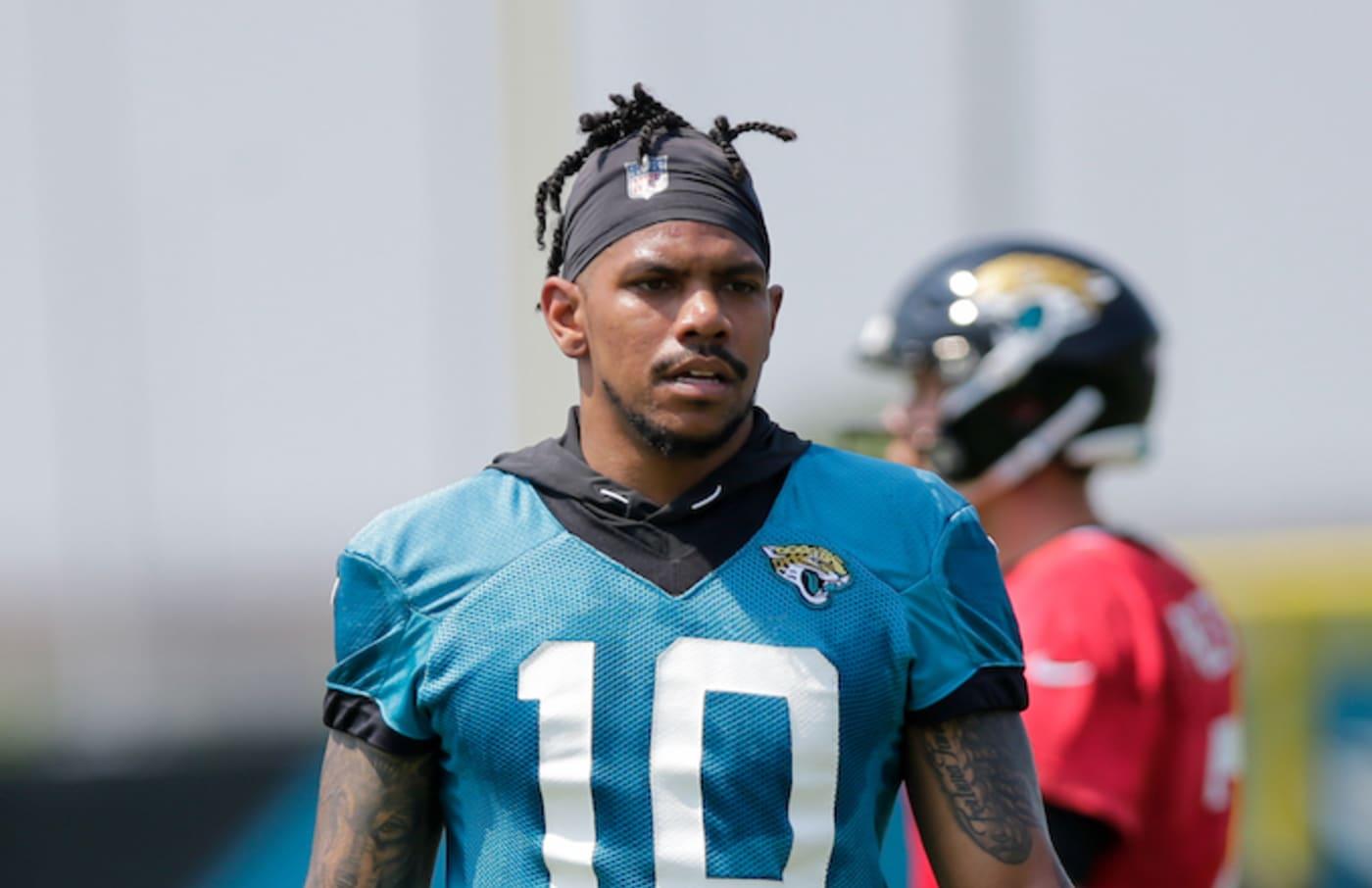 Jacksonville Jaguars wide receiver Terrelle Pryor Sr..