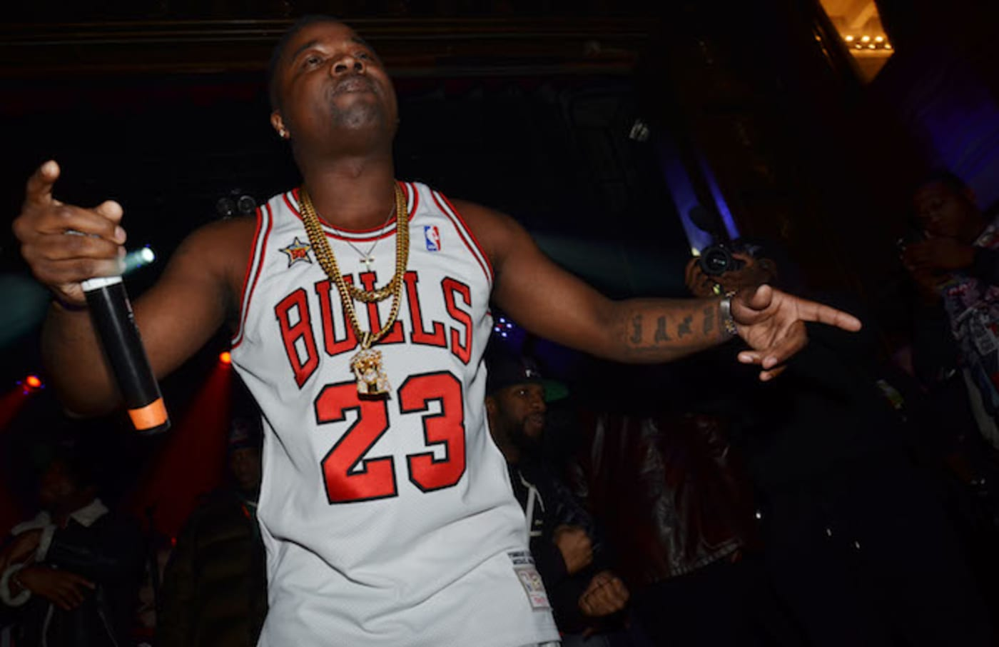 Troy Ave performs at the Best Ever After Party.