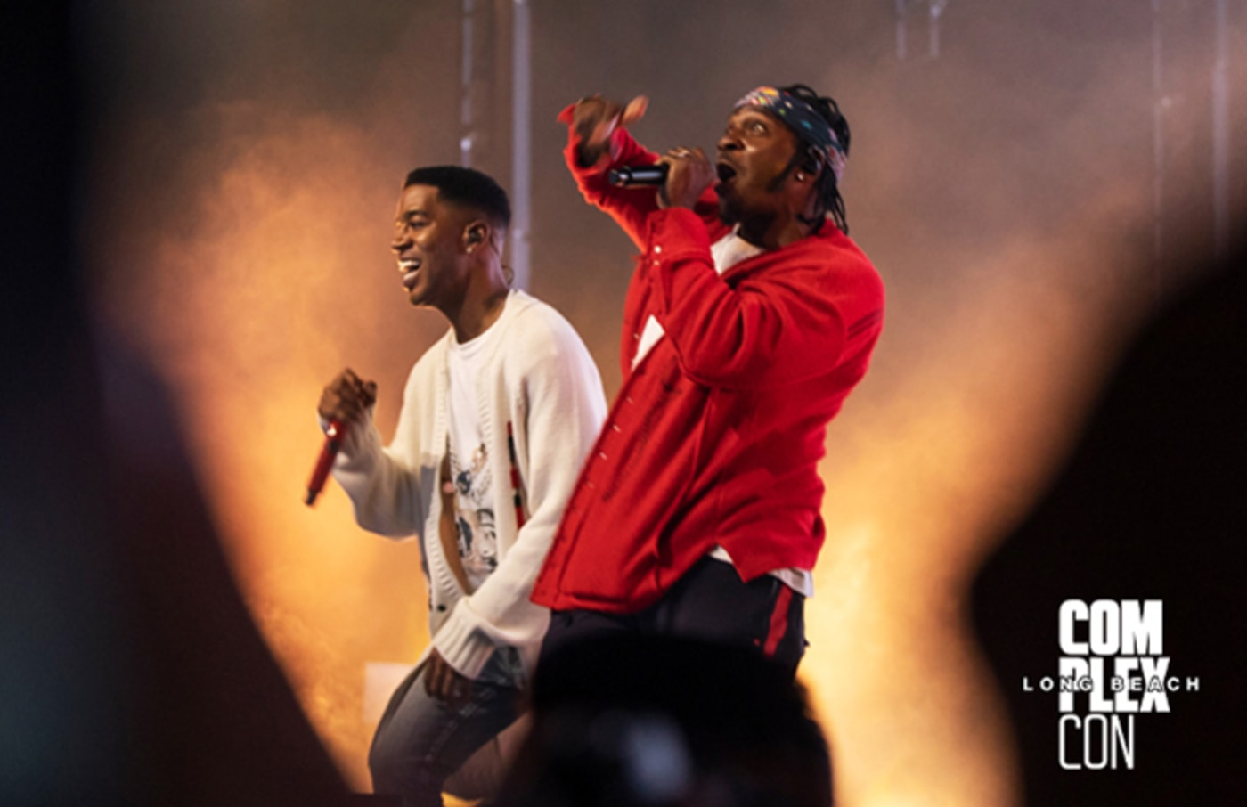 Kid Cudi and Pusha T at ComplexCon Long Beach 2019