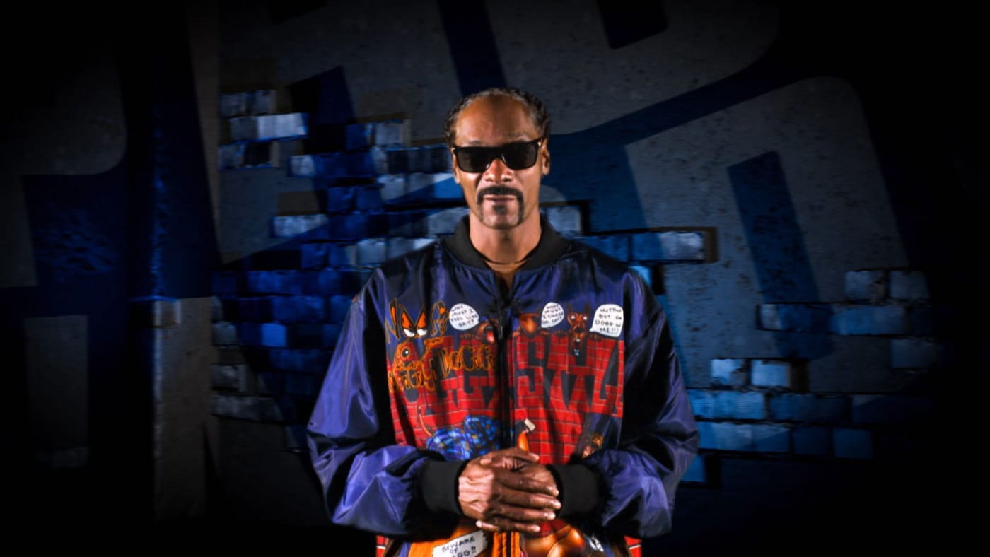 Snoop Dogg speaks at the BET Hip Hop Awards 2020