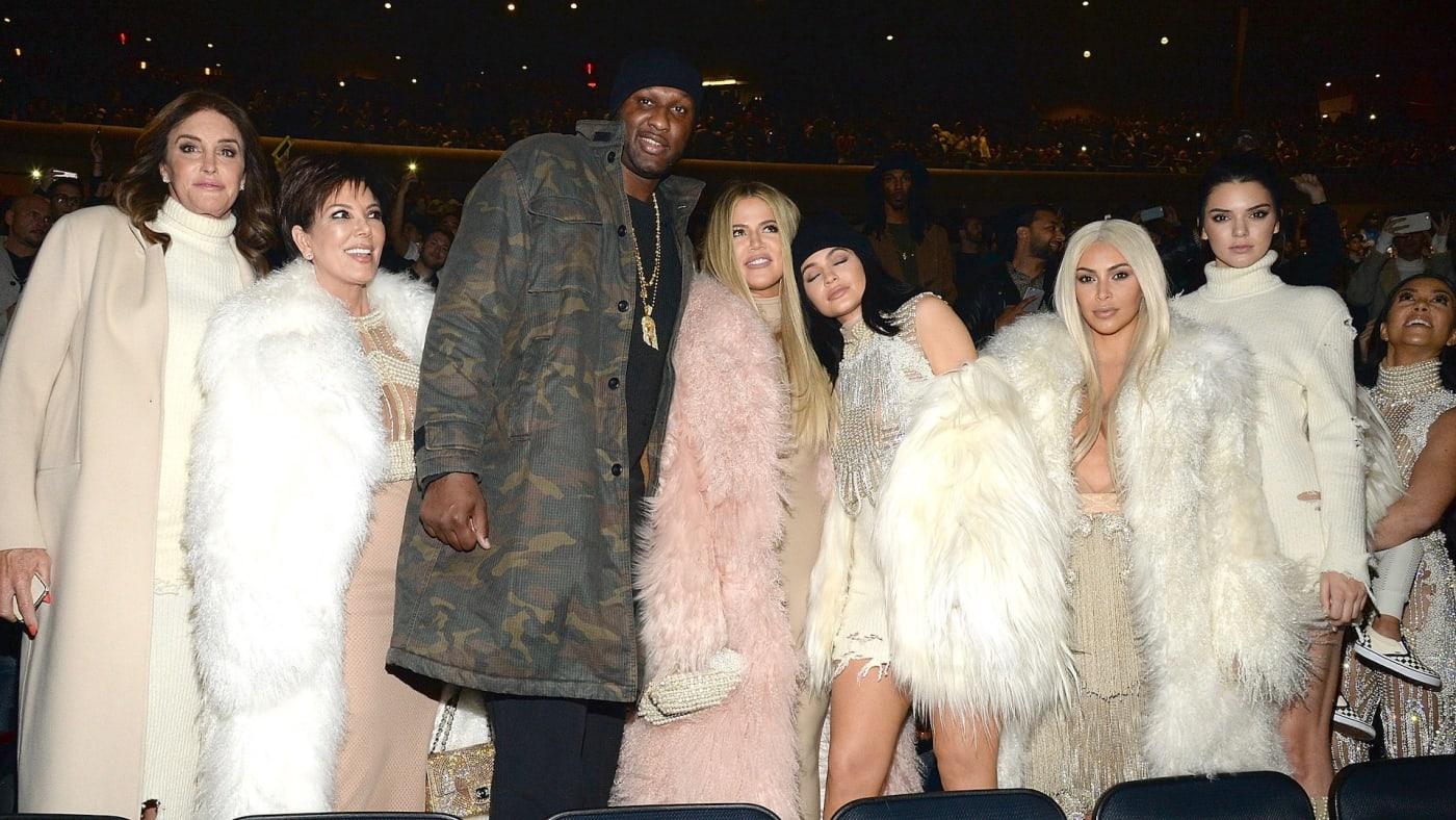 Lamar Odom and Kardashians