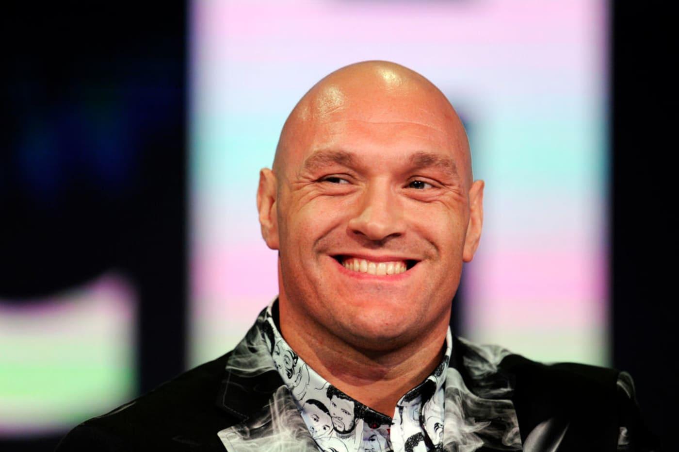 Tyson Fury Smile London 2019 Getty