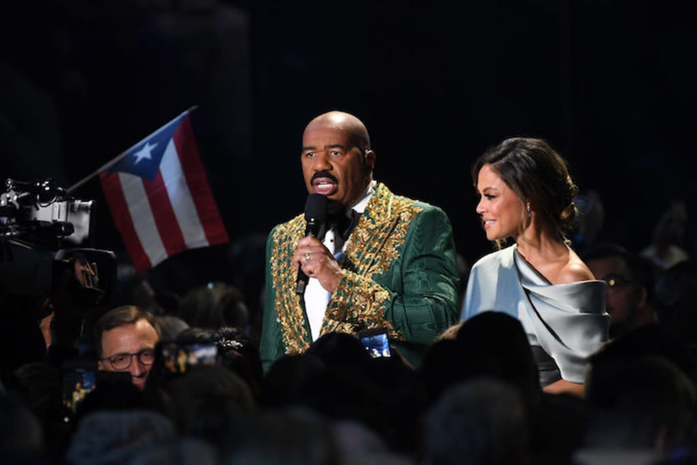 This is a picture of Steve Harvey.