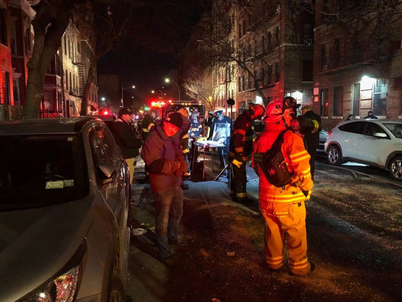 bronx apartment fire nyc getty