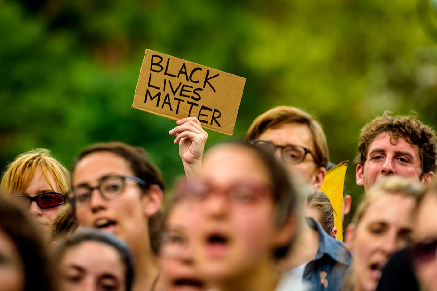 Jews of Color caucus at BLM demo photo 1