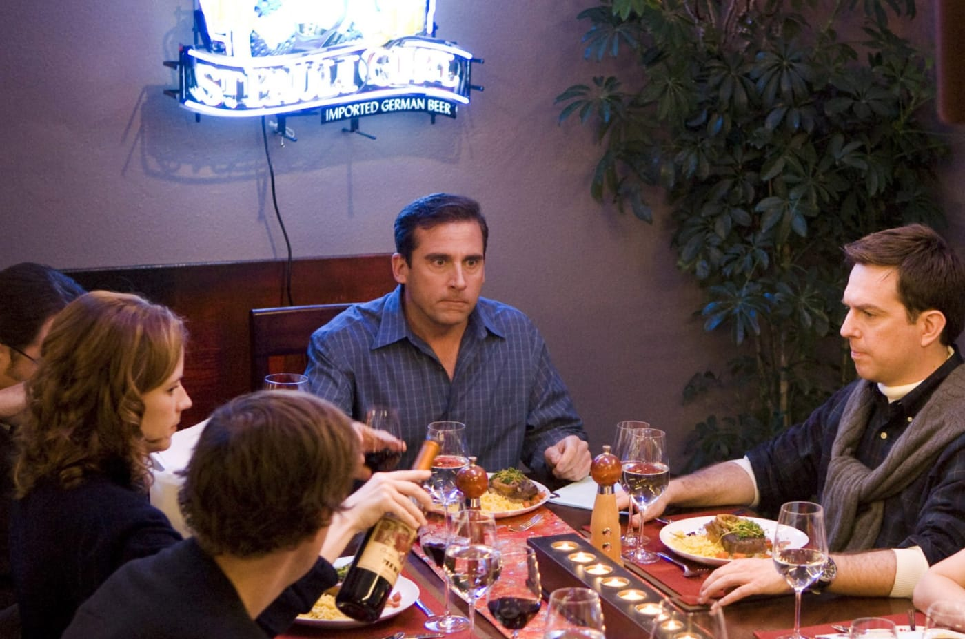 the office dinner party