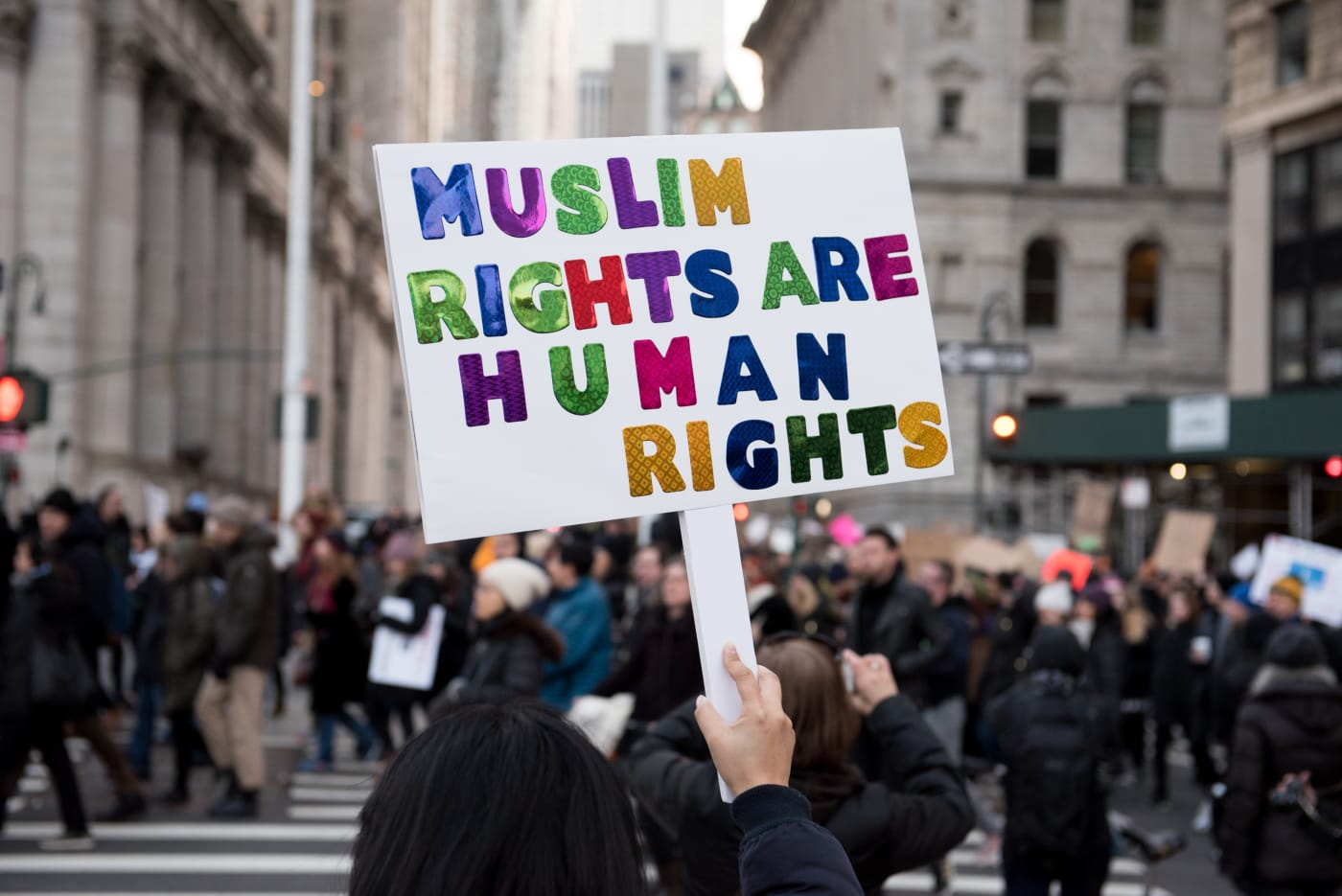 new york city protest of muslim ban