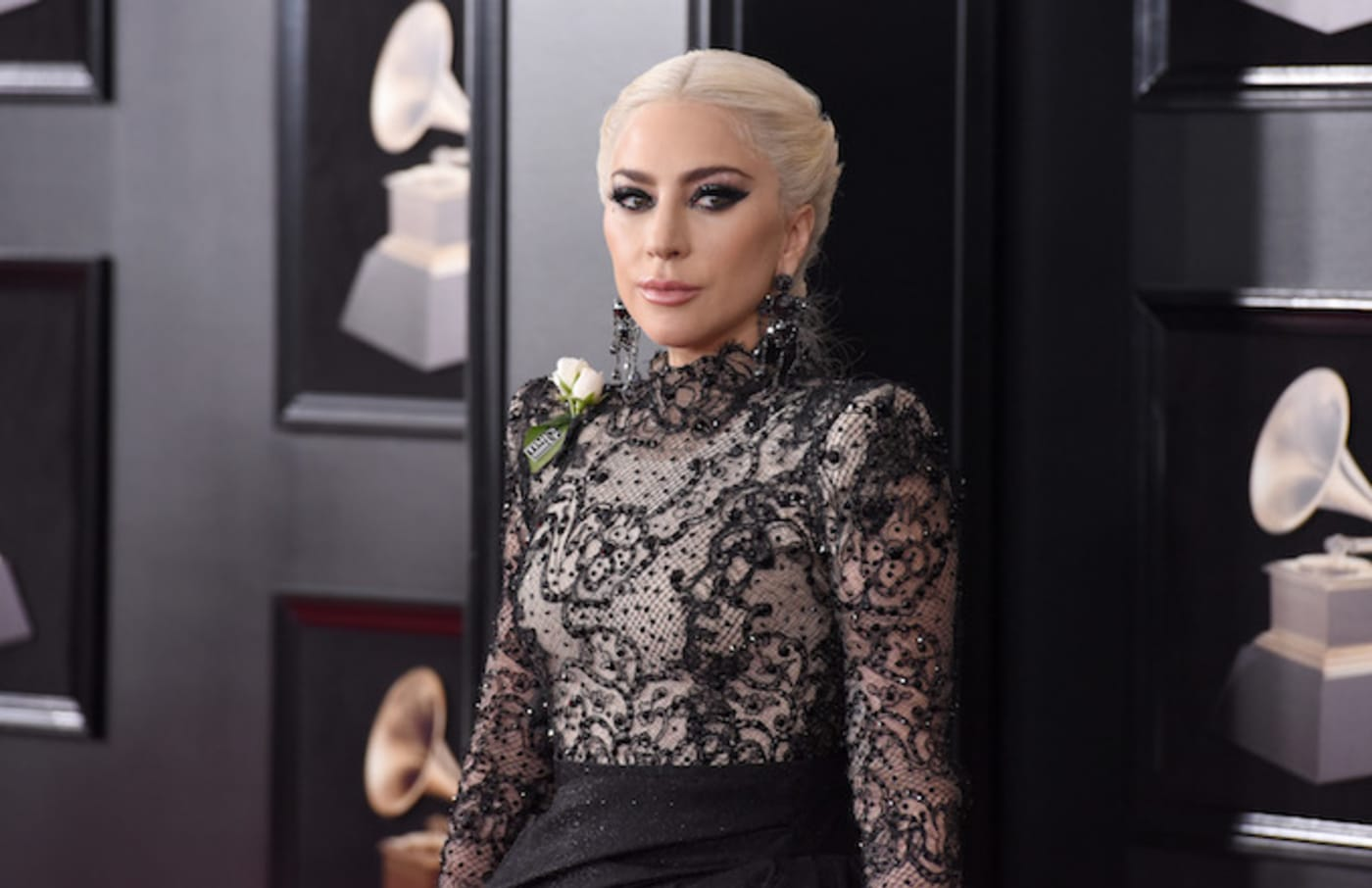 Lady Gaga attends the 60th Annual GRAMMY Awards/
