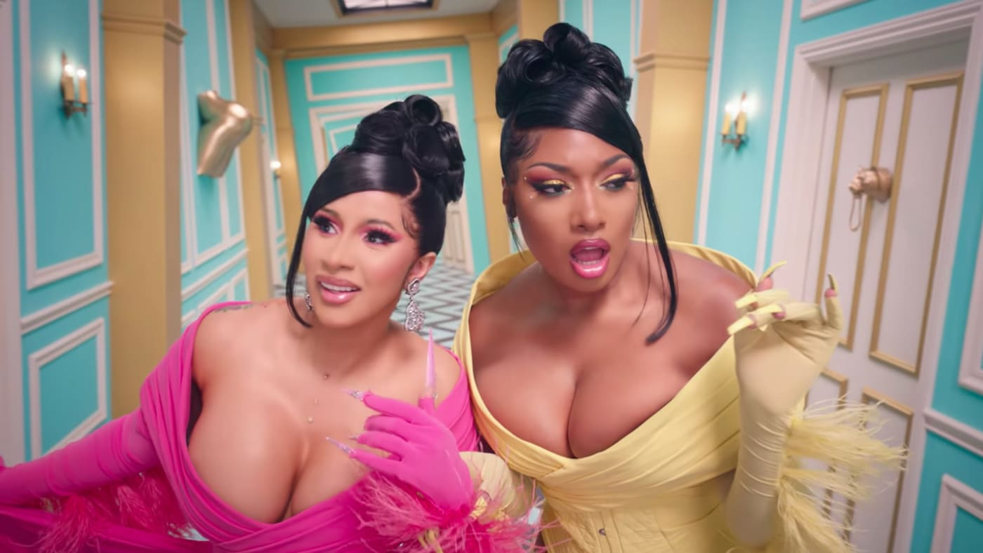 Cardi B and Megan Thee Stallion