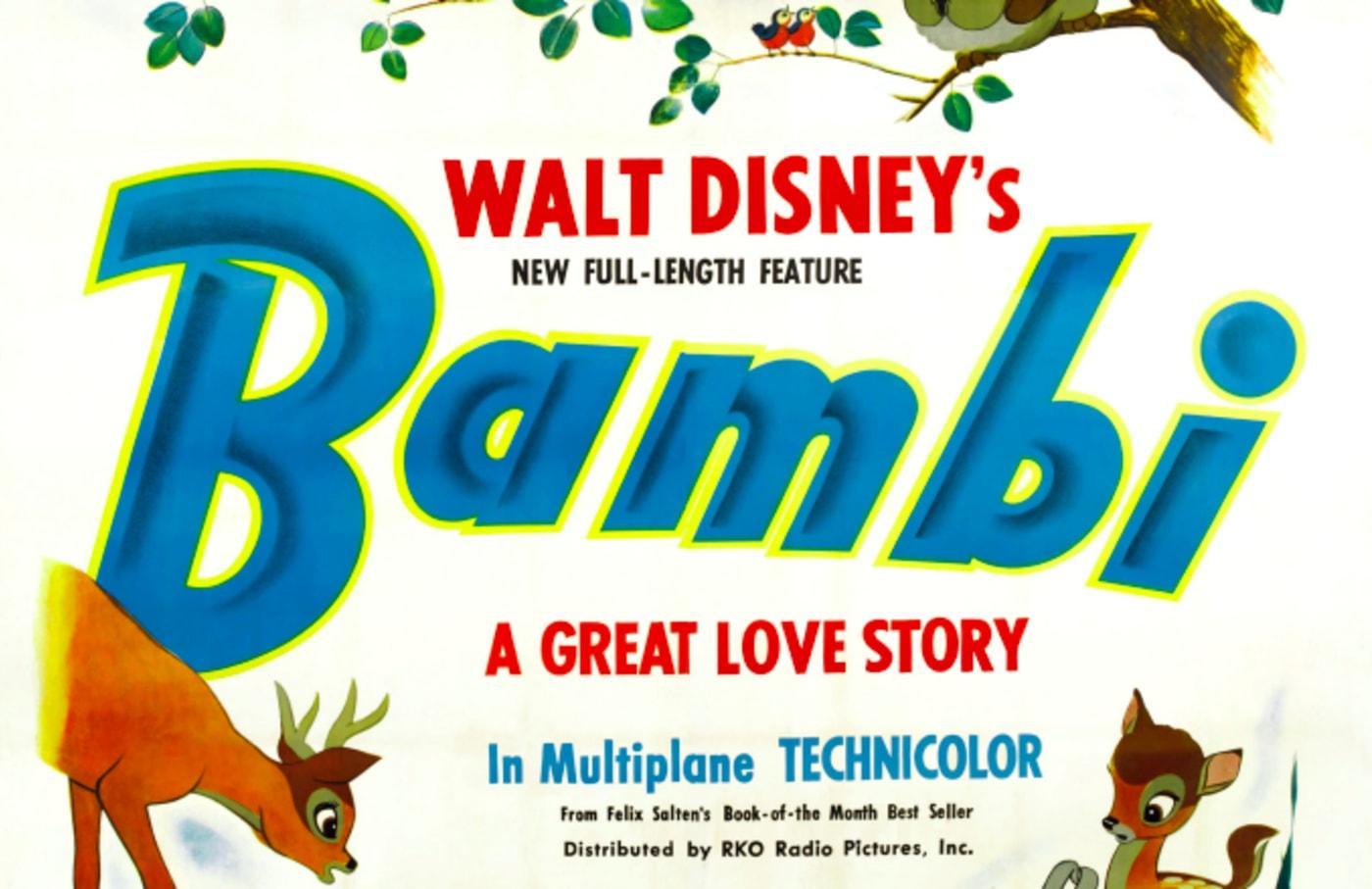 Bambi, poster