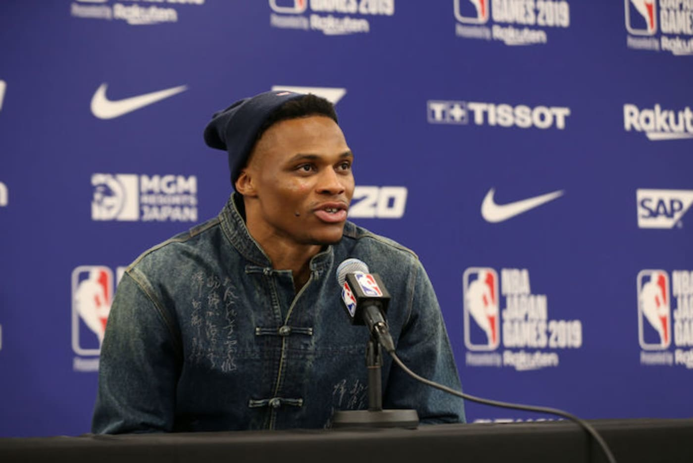 This is a picture of Westbrook.