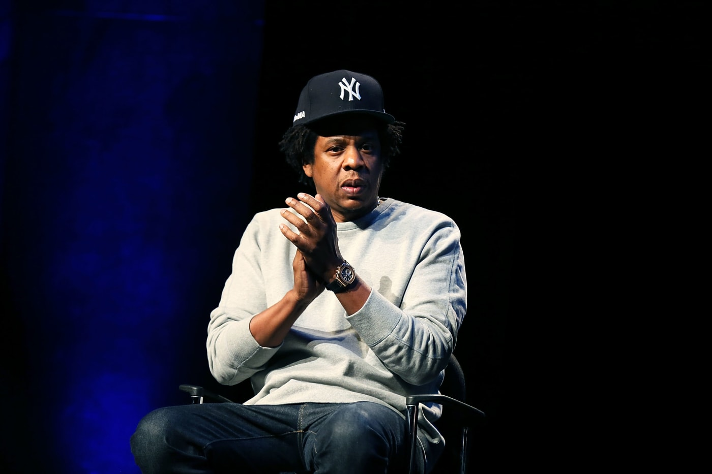Jay-Z at conference