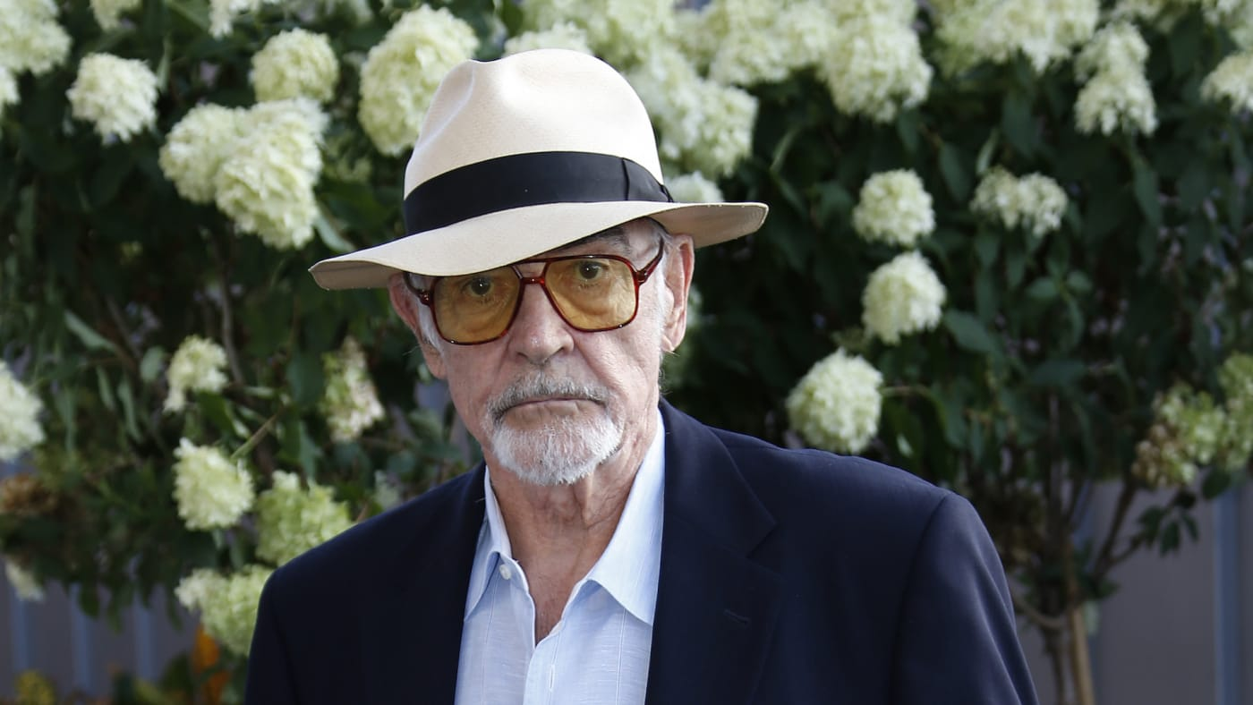 Sean Connery attends day twelve of the 2015 US Open