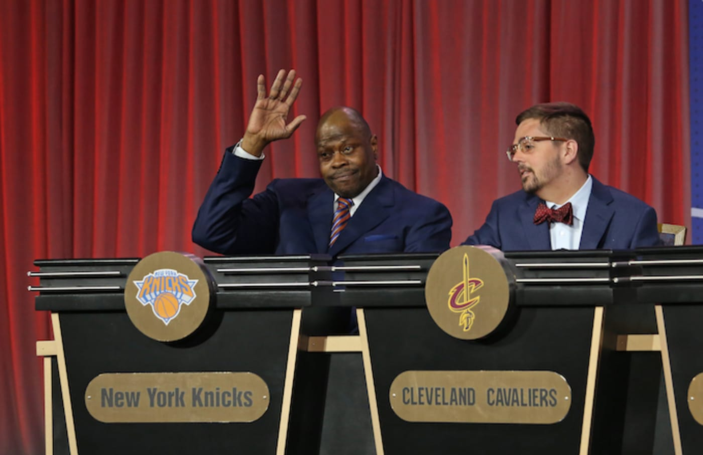 Patrick Ewing of the New York Knicks.