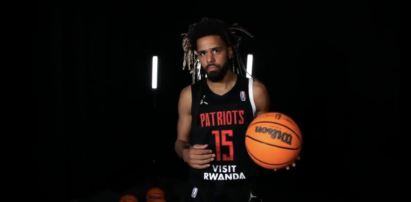 J. Cole Basketball Debut