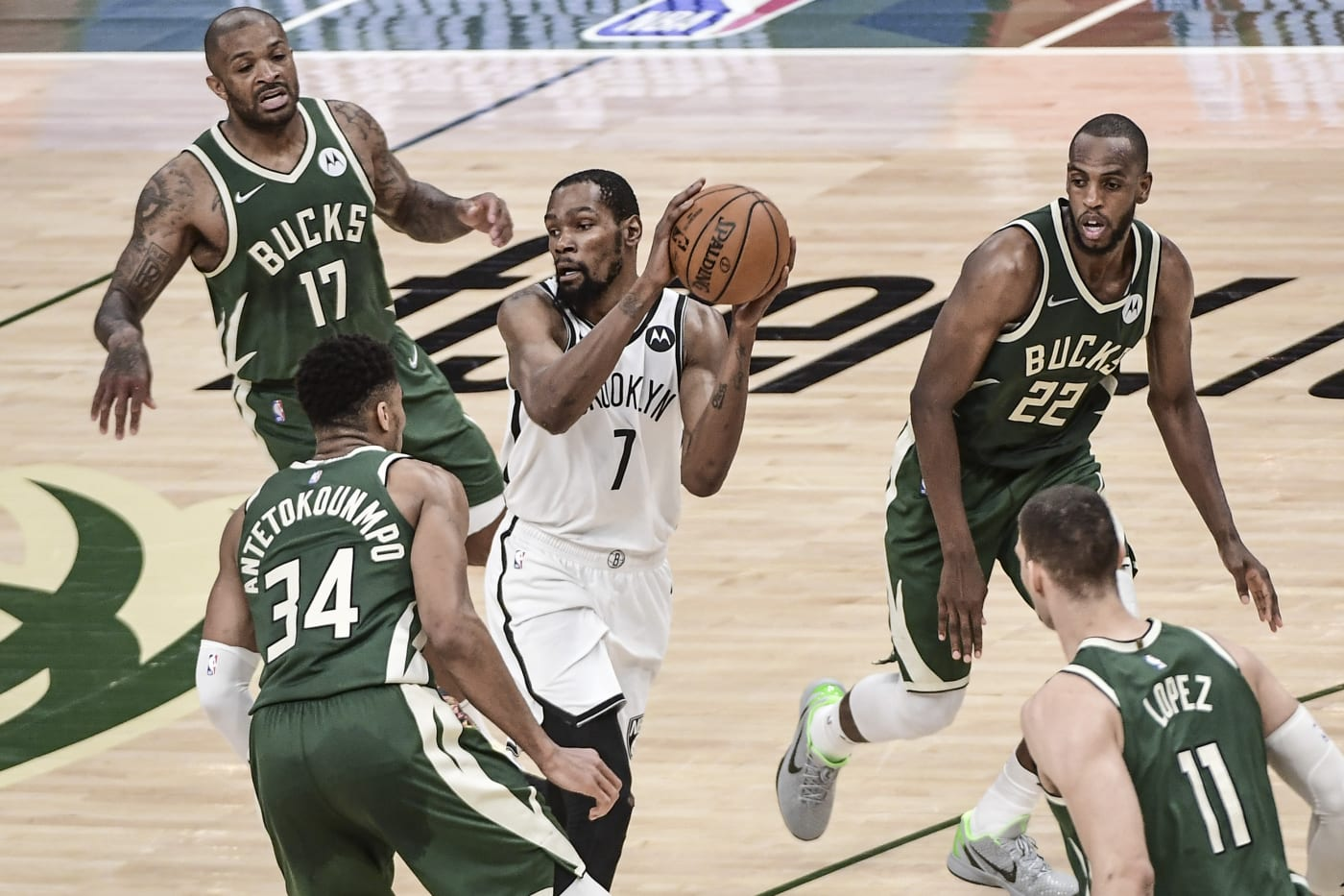 Kevin Durant Game 3 2021 NBA Playoffs Nets Bucks