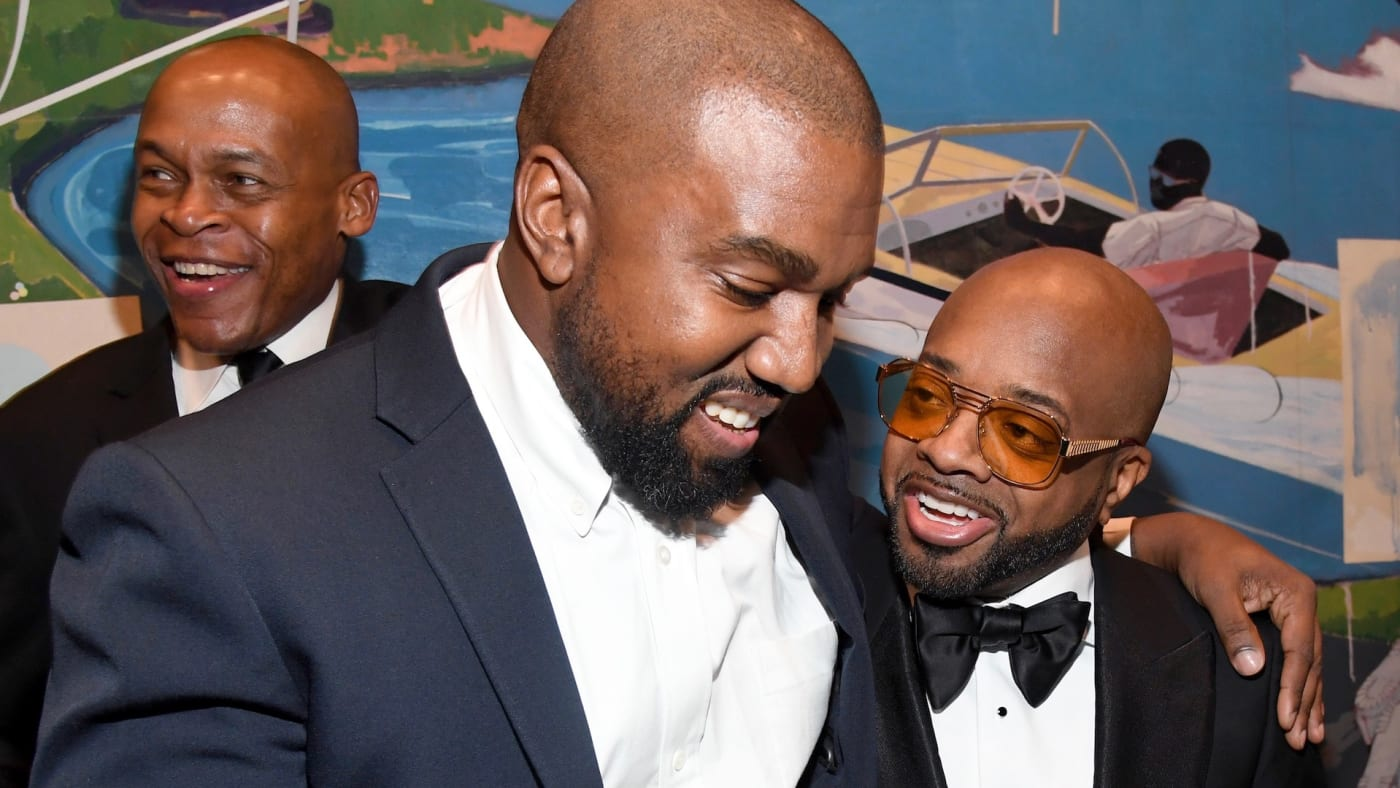 Kanye and Jermaine
