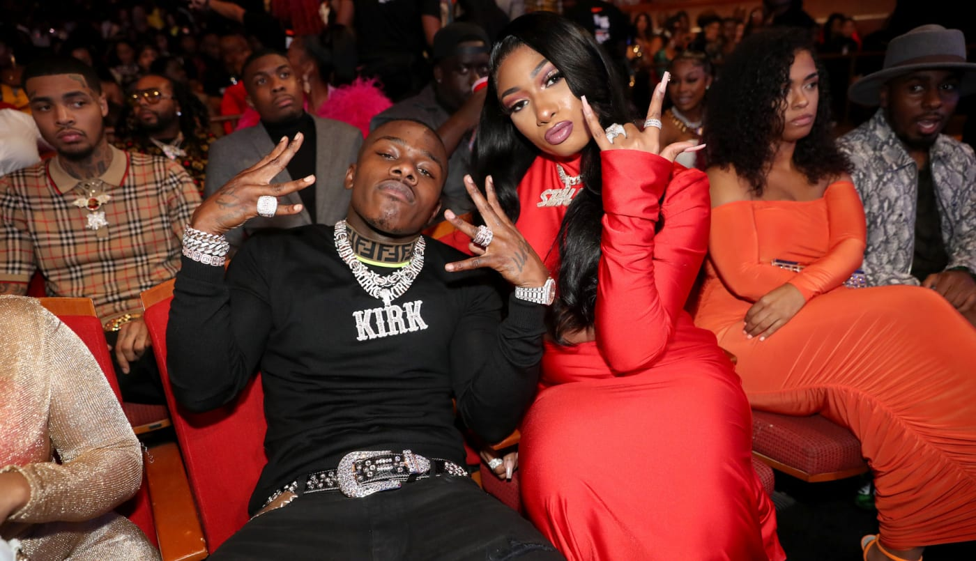 Megan Thee Stallion and DaBaby