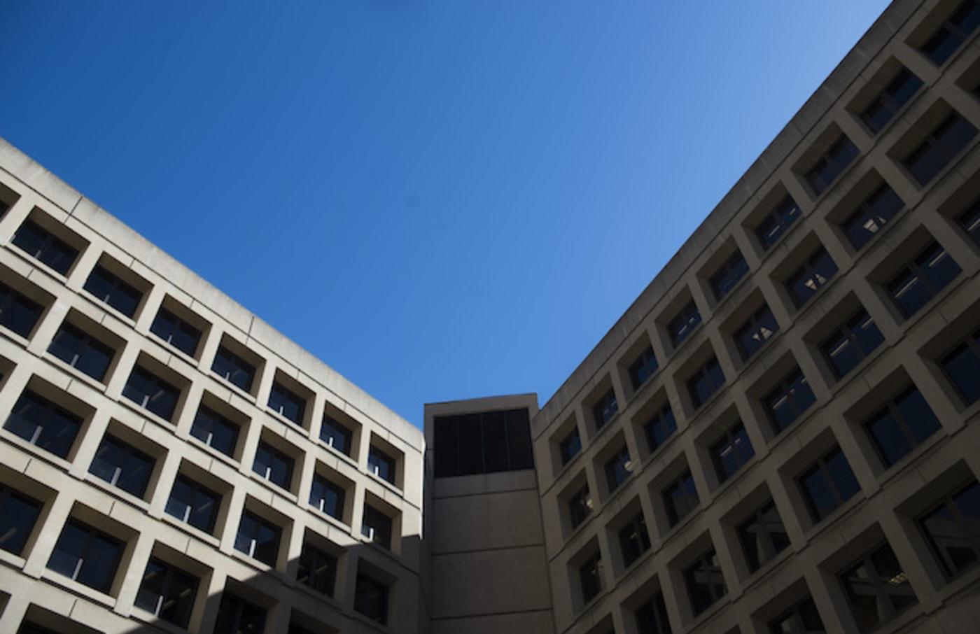 The FBI headquarters