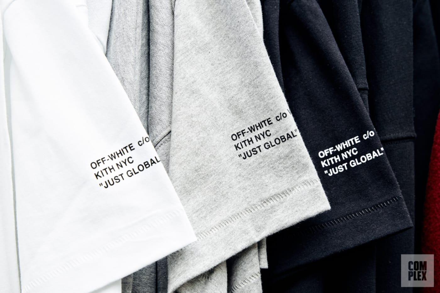 Kith's upcoming Off White collaboration.