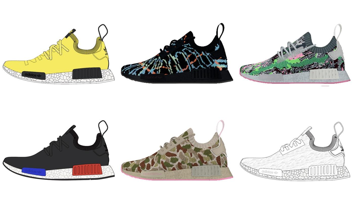 2021 Adidas NMDs