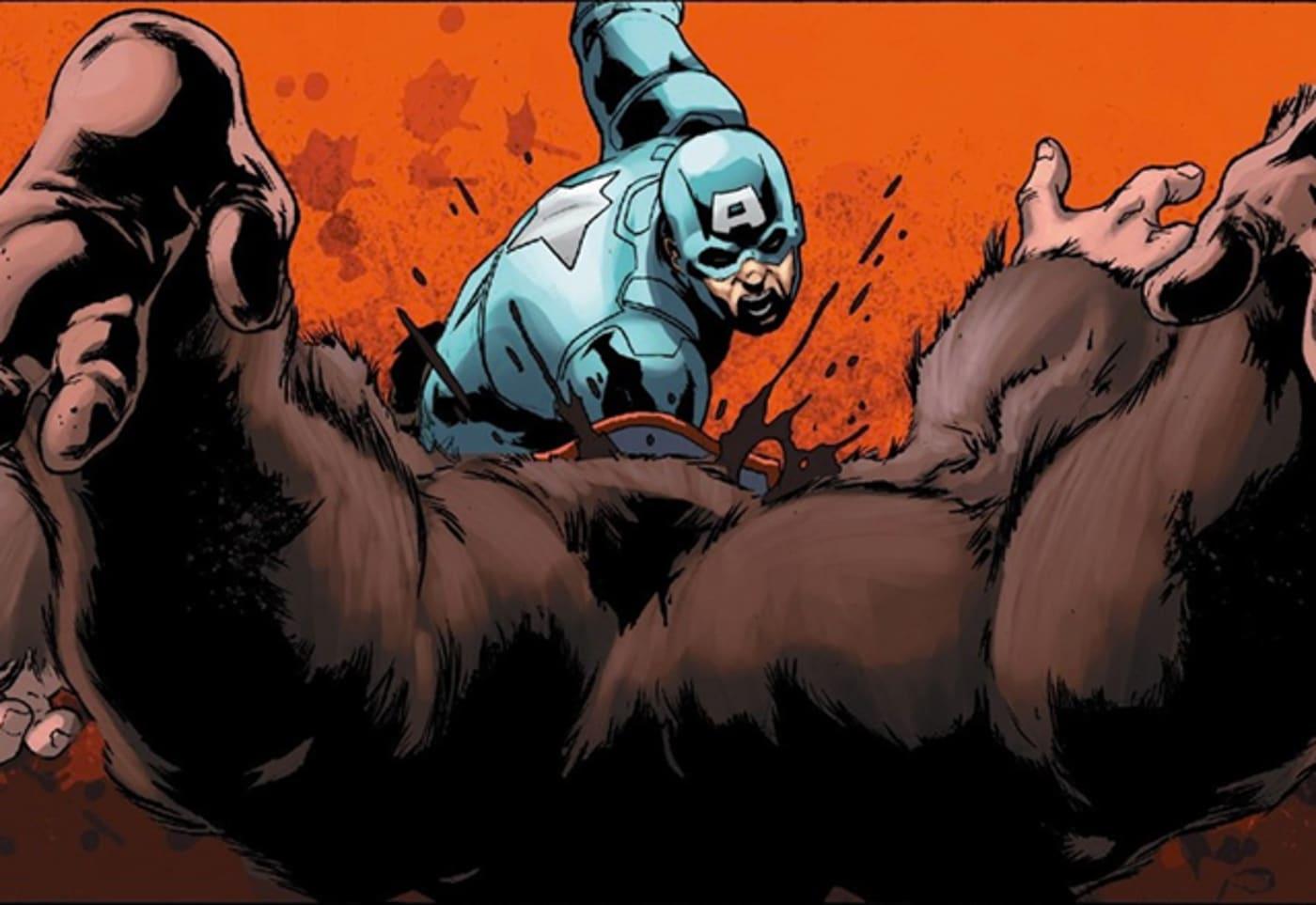 cap kills a gorilla