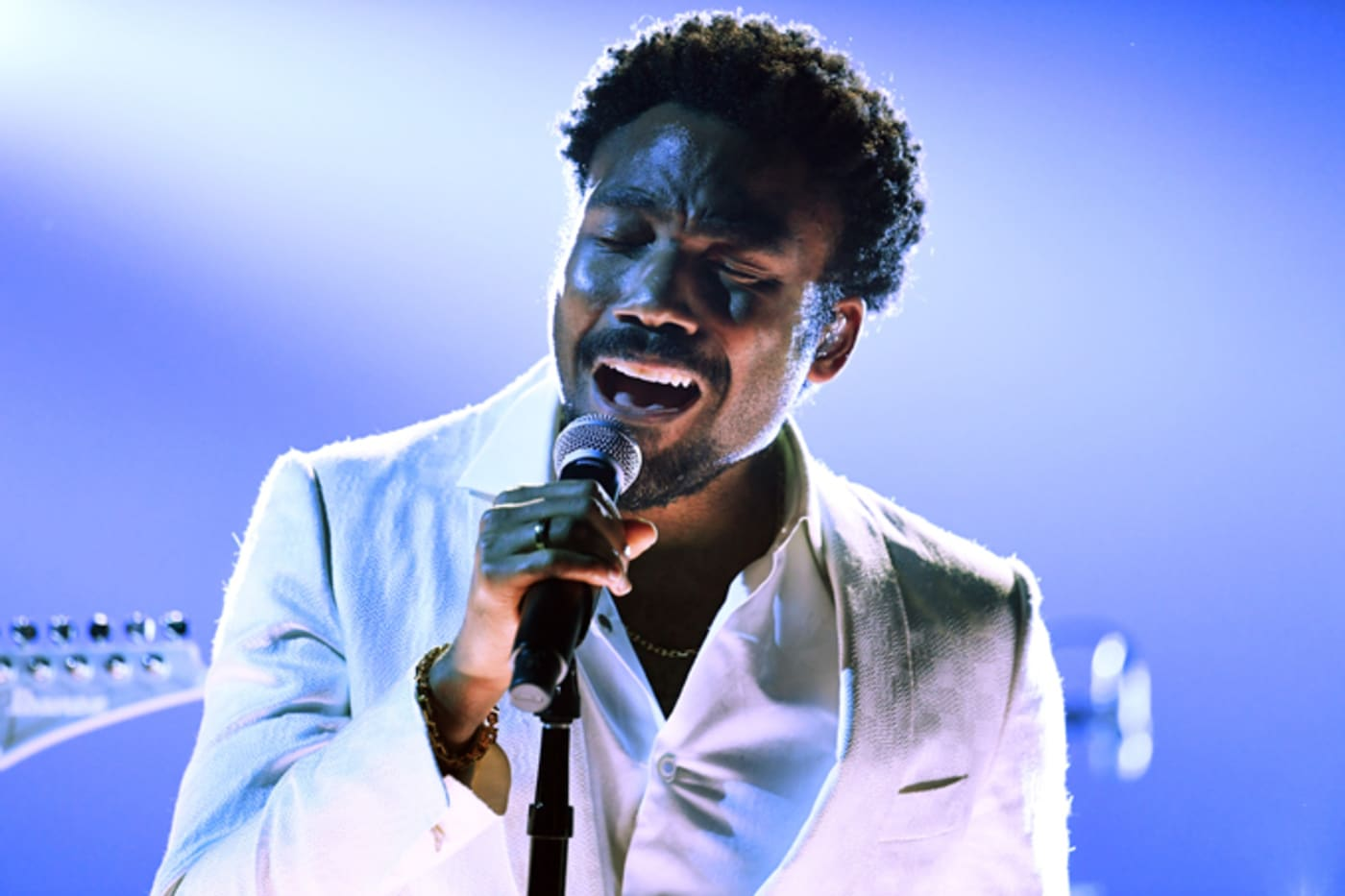 Childish Gambino performs onstage during the 60th Annual GRAMMY Awards