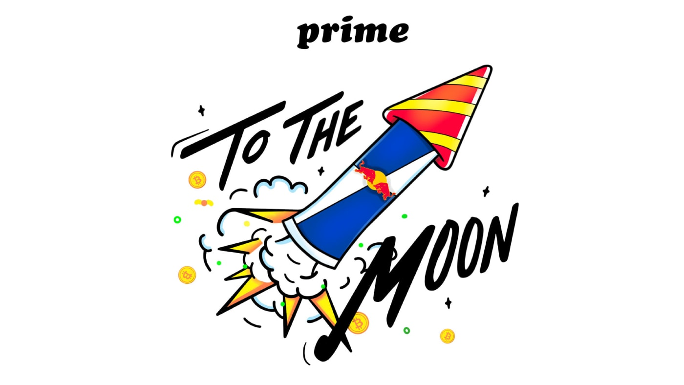 Prime and Red Bull launch To The Moon collab