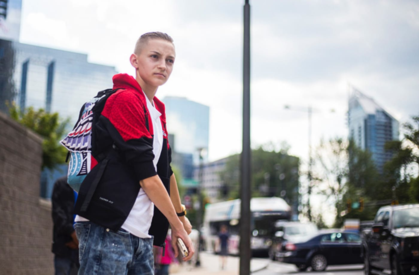 This is a photo of Backpack Kid.