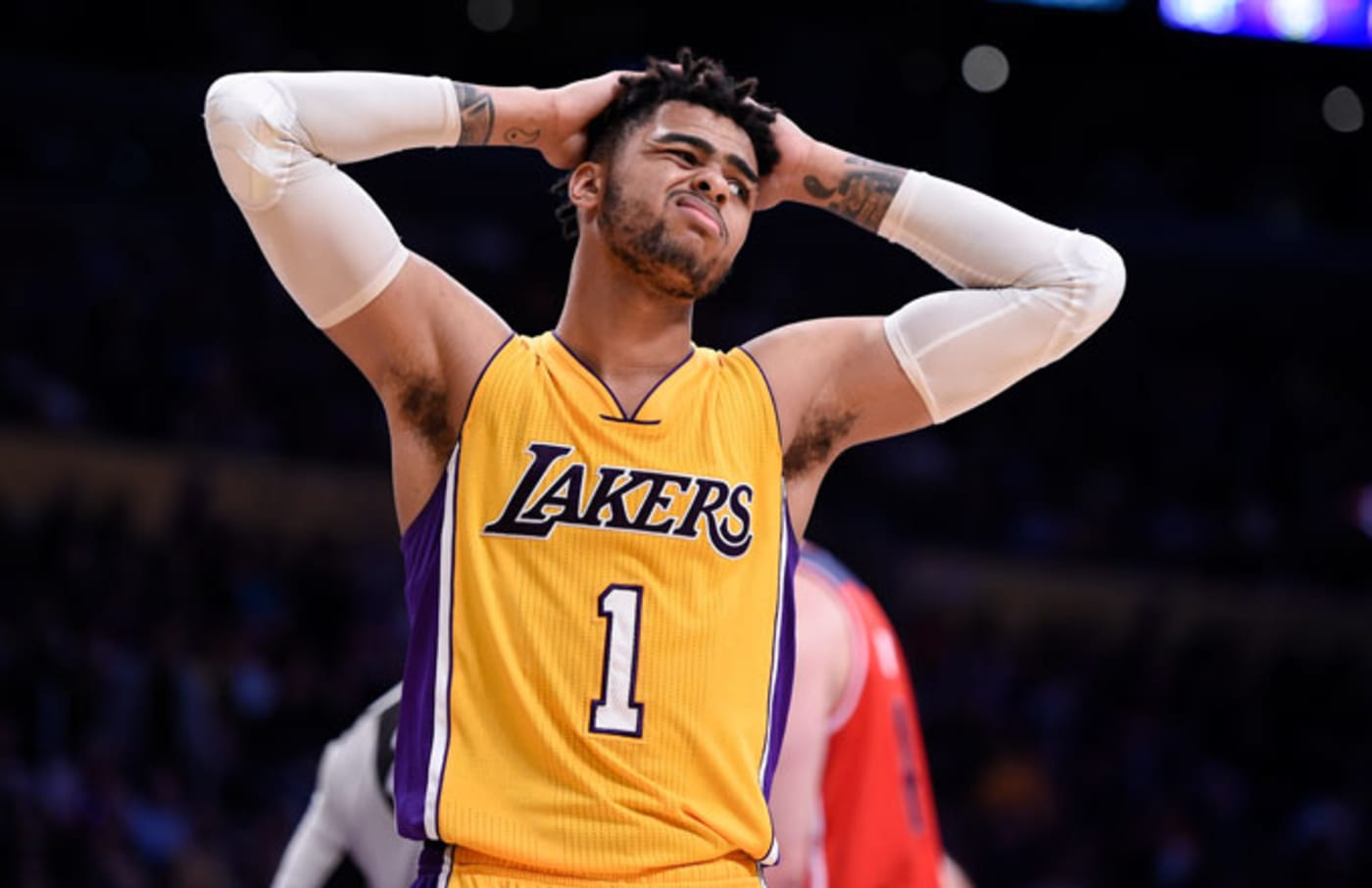 (Former) Lakers point guard D'Angelo Russell.