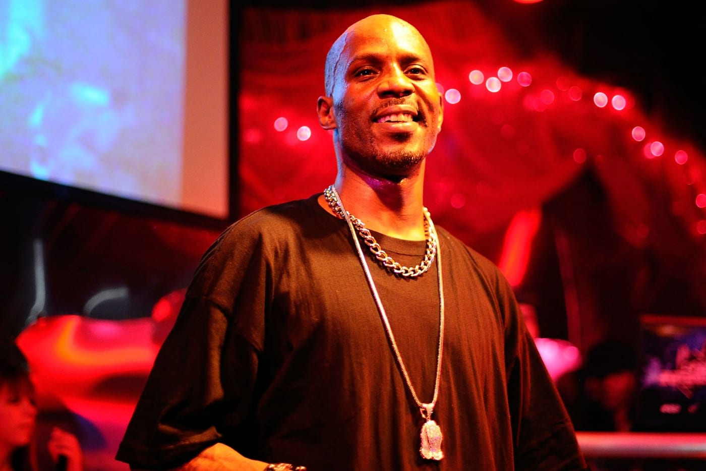 DMX on stage performing