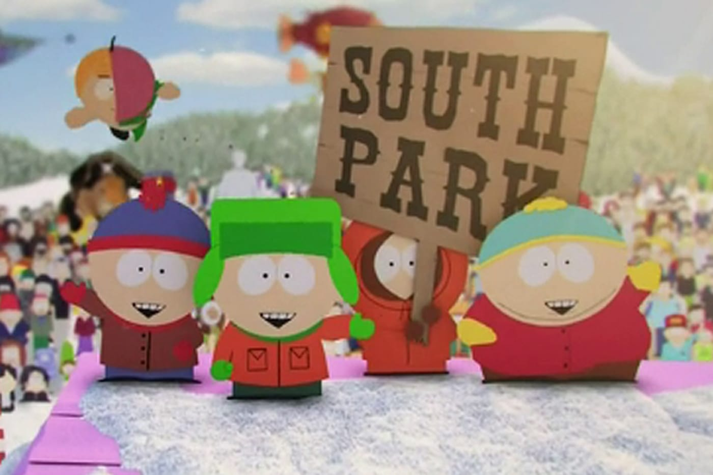 best south park characters lead