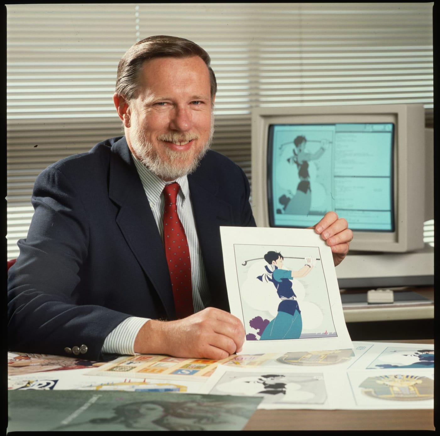 Founder of Adobe