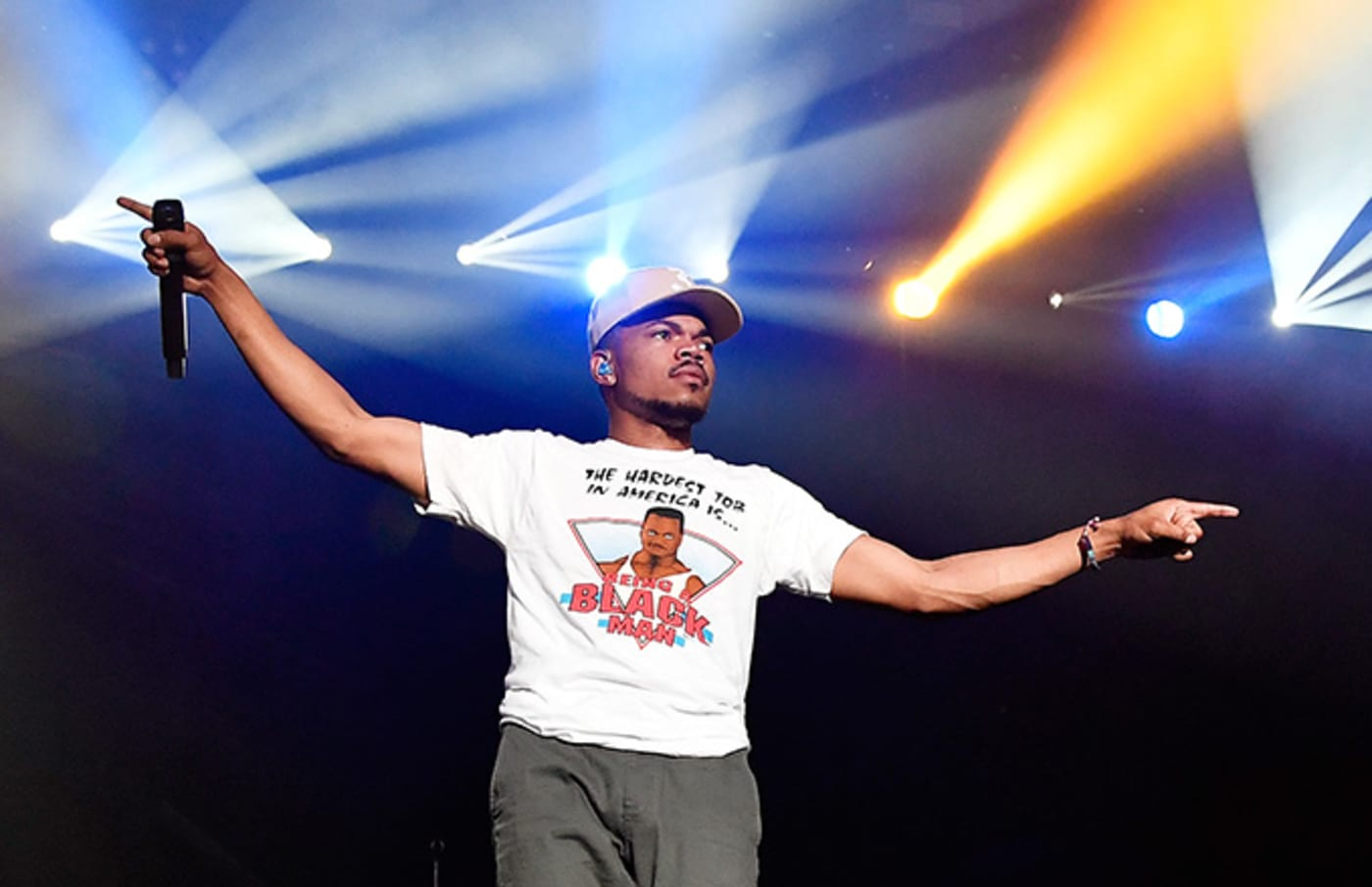 This is a photo of Chance The Rapper.