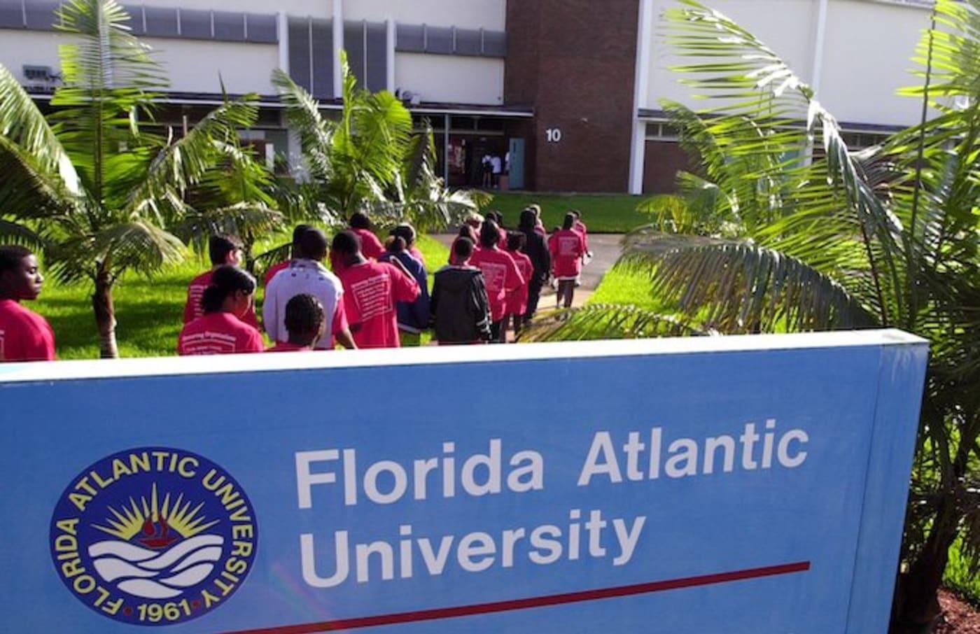 florida atlantic university student arrested