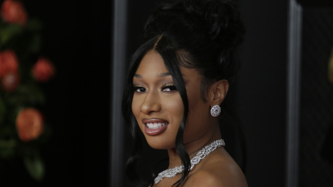 Megan Thee Stallion at THE 63rd ANNUAL GRAMMY® AWARDS