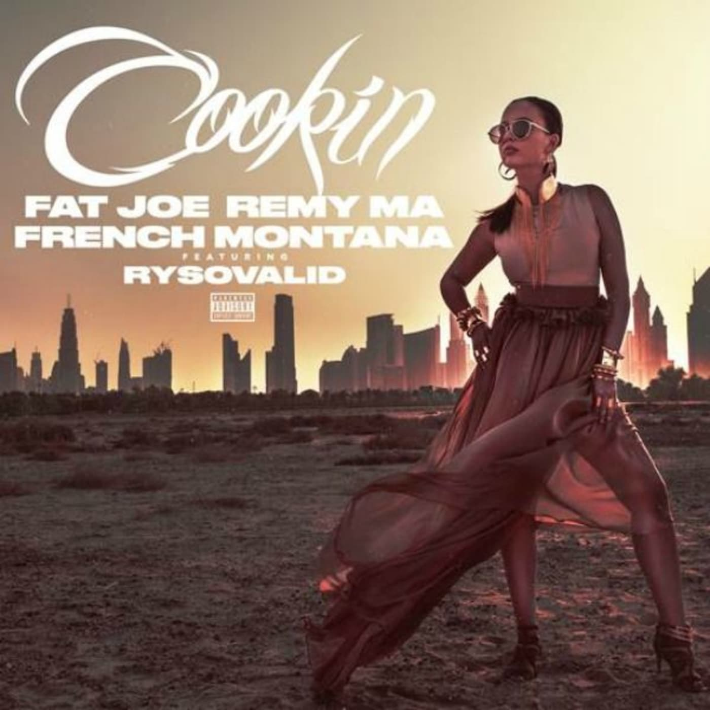 """This is the cover for Fat Joe and Remy Ma's """"Cookin."""""""