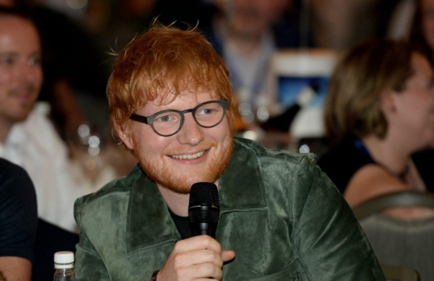 Ed Sheeran during the Nordoff Robbins O2 Silver Clef Awards 2019